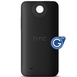 HTC Desire 300 battery cover in black with power button