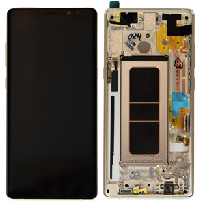 In 8 Samsung Complete Frame Genuine Lcd Note With Galaxy n950