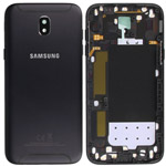 Genuine Samsung SM-J530F Galaxy J5 (2017 ) Battery Cover in Black With Side Button And Camera Lens-Samsung part no: GH82-14576A