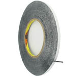 0.6 cm Roll of adhesive black tape 3m strong double sided for digitizers, frames and etc