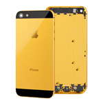 iPhone 5 Back Battery Cover in Gold with Small Parts-Replacement part (compatible)
