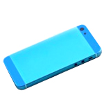 iPhone 5 Back Battery Cover in Light Blue with Small Parts