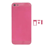 iPhone 5 Back Battery cover in Metallic Pink