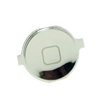 iPhone 4S Home Button in Silver-Replacement part (compatible)