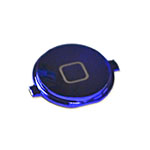 iPhone 4 Home Button in Metallic Blue- Replacement part (compatible)
