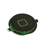 iPhone 4 Home Button in Metallic Green- Replacement part (compatible)