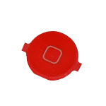 iPhone 4S Home Button in Red-Replacement part (compatible)
