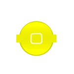 iPhone 4S Home Button in Yellow-Replacement part (compatible)
