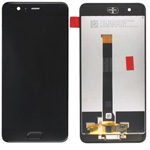 Genuine Huawei P10 Plus lcd display and touchpad in Black - Part no: 02351EEA