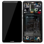 Genuine Huawei Mate 10 Pro Complete lcd ad touchpad with frame and battery in Grey - Part no: 02351RVN