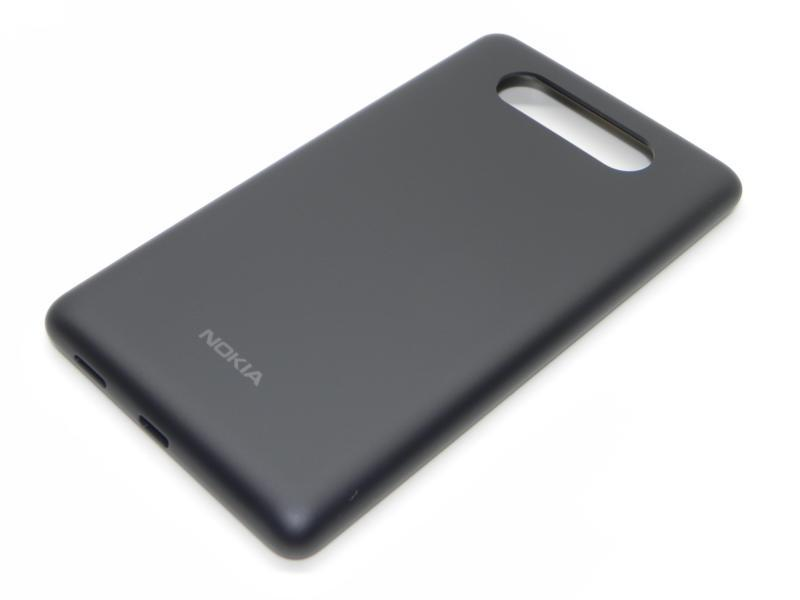 Genuine Nokia Lumia 820 Battery Cover in Black Matt- Nokia part no: 0259974