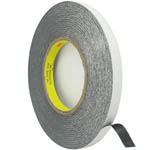 1.2 cm Roll of adhesive black tape 3m strong double sided for digitizers, frames and etc
