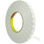 2.0cm Roll of adhesive white tape 3m strong double sided for digitizers, frames and etc