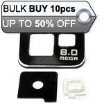10pcs Samsung Galaxy S2 i9100 camera cover black