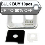 10pcs Samsung Galaxy S2 i9100 camera cover silver