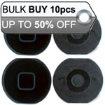 10Pcs iPad Mini Home Button Black