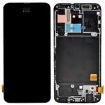 Genuine Samsung Galaxy A40 (SM-A405F) lcd and touchpad in black - part no: GH82-19674A