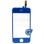 iPhone 3gs Digitizer in Deep Blue- Replacement part (compatible)