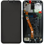 Genuine Huawei Mate 20 Lite Complete lcd with frame and internal Battery in Blue - Part no: 02352DKM,02352GTT