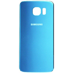 Genuine Samsung Galaxy S6 battery cover in Electric Blue  Part no: GH82-09706D