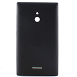Nokia XL, Dual SIM battery cover (black) - Part no: 8003379