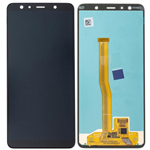 Genuine Samsung Galaxy A7 (2018) A750  lcd and touchpad in Black - Part number: GH96-12078A