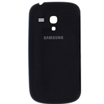 Genuine Samsung GT-I8190 Galaxy S3 Mini Battery Cover Black-Samsung Part : GH98-24992C