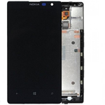 Genuine Nokia Lumia 1520 Complete Front, Lcd & Touchscreen Incl Frame - Nokia Part Number: P/N:00810M9