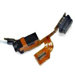 Nokia Lumia 925 Micro USB Connector / Microfone Flex-Cable / Audio Jack - Part no: 206096