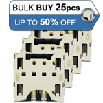 Bulk 25pcs Blackberry Z10 Q10 Sim Card Reader - Only £1.20p each
