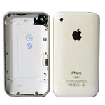 iPhone 3gs 32gb Back Cover white W/Bezel and Chrome bits