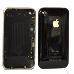 iPhone 3G 16gb Back Cover with Chrome Bezel  Approval In Black