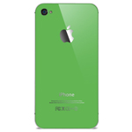 iPhone 4 battery cover in Green