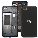 Blackberry Z10 MidFrame, Battery Cover and Sensor Flex in Black (Original) - 4G Version (Sim Slot to the bottom)