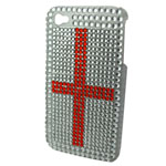 iPhone 4/4s St Georges Diamonte Cover in fuera packaging with screen protector