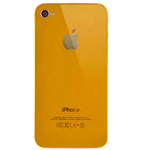 iPhone 4S Battery Cover in Orange