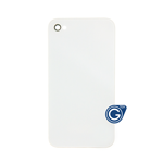 iPhone 4S Battery Cover in White - No Logo