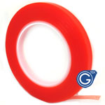 0.8 cm Roll of adhesive Red tape 3m strong double sided for digitizers, frames and etc