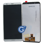Huawei Honor 7C Complete LCD and Digitizer in White-OEM