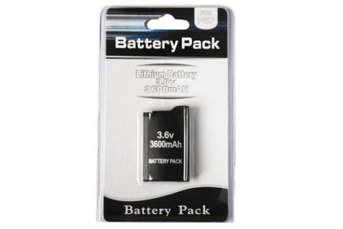 PSP 1000 Battery Pack 3.6v 3600mAh