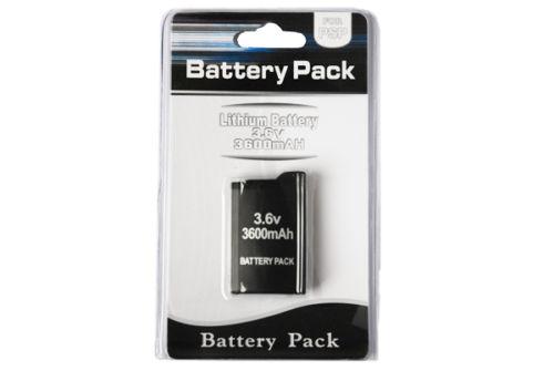 PSP 1000 Battery Pack 3.6v 3600mAh