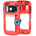 Nokia 808 Body Assy Red - 026920C