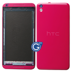 HTC Desire 816 Complete Housing in Red