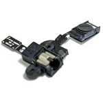 Genuine Samsung GT-N7100 Galaxy Note 2 Ear Speaker Flex & Earphone Jack-Samsung part no: GH96-05931A