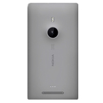 Genuine Nokia Lumia 925 Back Cover (Grey) -  Nokia Part no: 00811D0, 00810B6