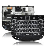 Genuine Blackberry 9900 full Keypad board incl: Flex, Membrane, Keypad, Navi key/Joystick Black