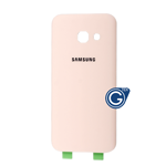 Samsung Galaxy A3 2017 SM-A320F Battery Cover in Pink