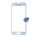 Samsung Galaxy A3 SM-A320 Glass Lens with Adhesive in Blue