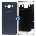 Samsung Galaxy A5 SM-A500F Rear Housing with Side Buttons in Black