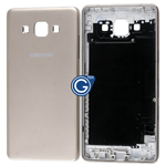 Samsung Galaxy A5 SM-A500F Rear Housing with Side Buttons in Gold